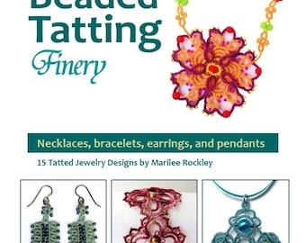 "Shuttle Tatting eBook ""Marilee's Beaded Tatting Finery"" PDF Instant Download"