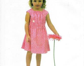 Children's Corner Sewing Pattern #278 / JULIET / Sizes 1 - 3 and 4 - 6