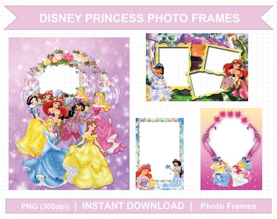 disney princess picture frames | secondtofirst.com