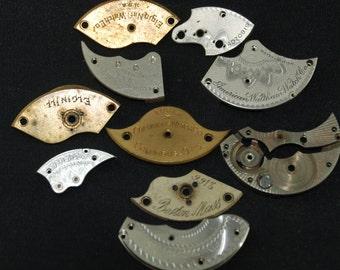 Destash Steampunk Watch Clock Parts Movements Plates Art Grab Bag RD 48