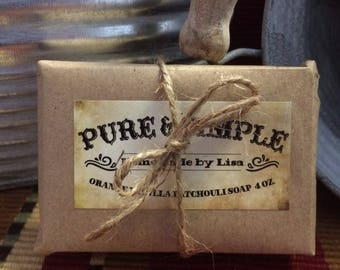 Orange Vanilla Patchouli Soap