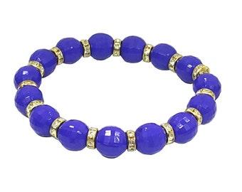 10MM Bead Bracelet Handmade Bracelet Top Quality, 2.3 Inch Bead Bracelet,Stretchable Bead Bracelet
