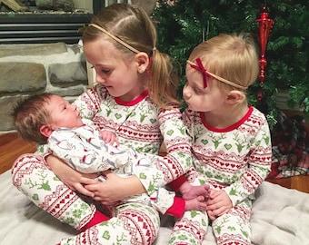 Christmas Pajamas || Sweater Pattern