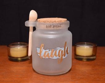 Vanilla Body Sugar Scrub Jar