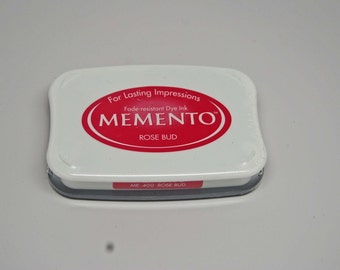 SALE Memento Dye Ink Stamp Pad -- Rose Bud -- Great for Copic Markers