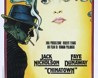Spring Sales Event: Chinatown Movie POSTER (1974) Drama/Thriller