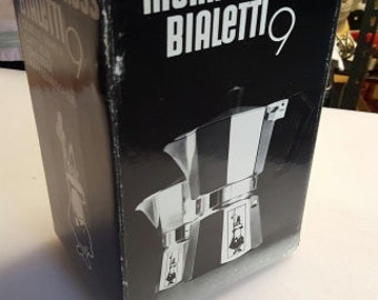 Bialetti Moka Express 9-Cup Stovetop Espresso Maker - Made in Italy