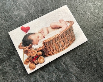 Photo magnets, Personalized magnets, Custom Fridge magnets, Save the date, Refrigerator magnets, Picture Magnets , wooden magnets,