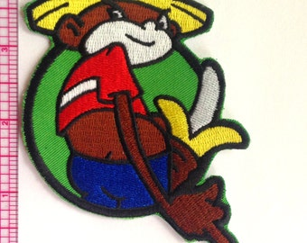 Johnny Chimpo Iron-on Patch