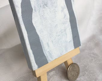 Original Abstract Painting on Small Canvas