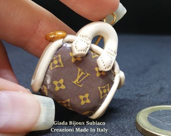 DIY 1 mini bag LV for Handmade Jewerly
