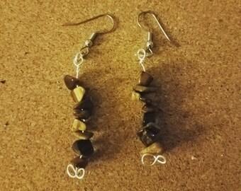 Tigerseye Earrings