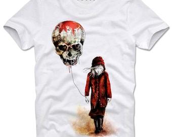 DOPEHOUSE T- Shirt Girl Graffiti Grafitti Skull Watercolor Swag Tattoo Ink Sprayer Grunge Dope Trippy Banksy Wasted Youth