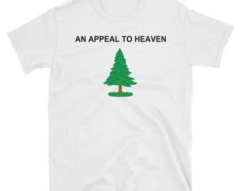 An Appeal To Heaven Pine Tree USA Flag T-Shirt