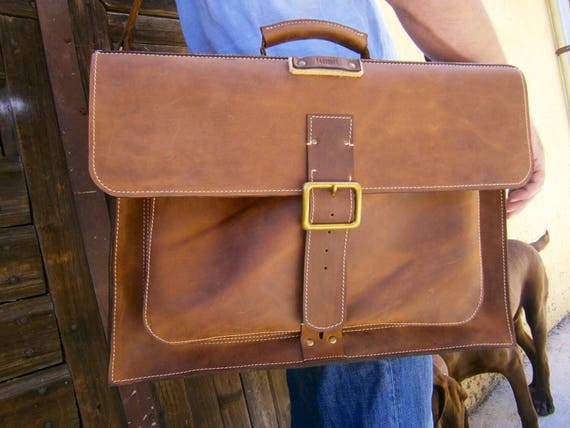 15inch Laptop Genuine Leather Briefcase, Overnight Office Laptop Briefcase, Vintage Aspect 15 inchBusiness  Laptop Briefcase,