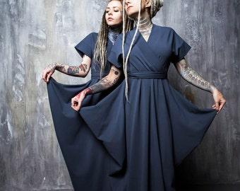 "Dress ""Kimono Gray"""