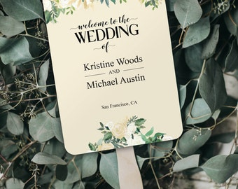 Program Template, Printable Program, Wedding Printable, Editable Program, Wedding Template, Wedding Program, Ceremony Program, DIY Wedding