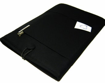 Macbook Air Case, Macbook Air Sleeve, Macbook 12 inch Case, 11 Inch Macbook Air Case, Laptop Sleeve, Solid Black