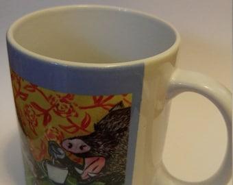 25% off Javelina at the wine bar mug cup 11 oz art mug cup 11 oz gift