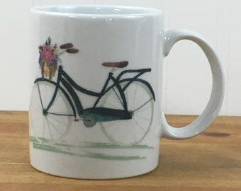 Love to ride bicycle 11 ounce mug