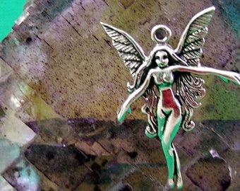 Sweet Sterling Silver Fairy Charm