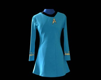 Star Trek TOS Skant Dress Custom Costume Replica Braiding