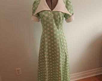 1970's Polka Dot Dress