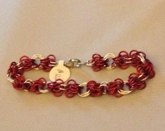 Red Butterflies Bracelet