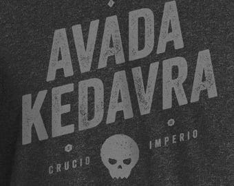Harry Potter, Avada Kedavra Shirt, Harry Potter Shirt, Avada Kedavra, Harry Potter Spells, Harry Pottery Movie, Voldemort Shirt, Voldemort