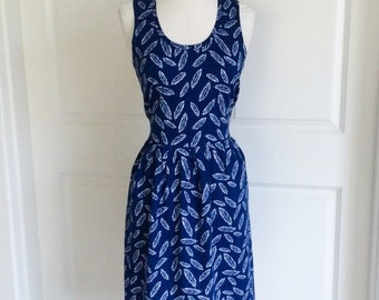 Feather Dress for Women and Teens - Womens Navy Dress - Navy Feather Dress - Feather Dress - Womens Dresses - Teens Dresses - Ladies Dresses