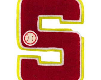 "Patch iron Terry letter ""S"""