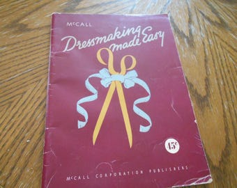 Dressmaking Made Easy McCall Paperback Instruction Book
