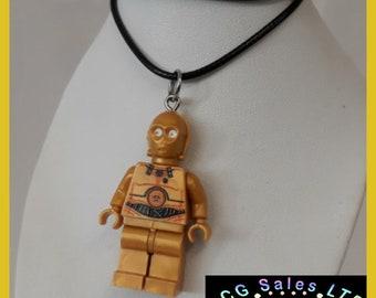 Star Wars 'C3PO' Mini Fig Toy Necklace