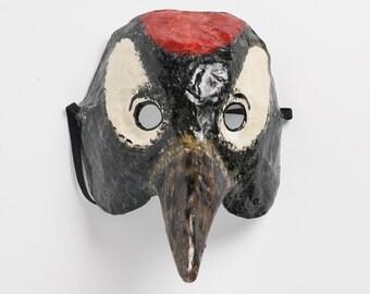 Paper bird mask