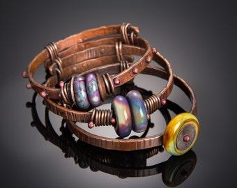 Rustic Copper Bangle Tutorial (updated 9/16)