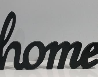 Wood Letters Wood Word Sign Home Wooden Letters Word Art Wood Letters Home Decor Wall Letters Home