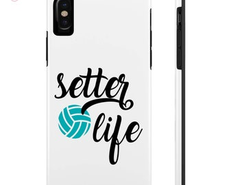 Setter Life Phone Case, iPhone 6/7/8/X, Samsung Galaxy S6