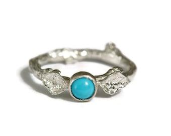 Handmade turquoise engagement ring Etsy