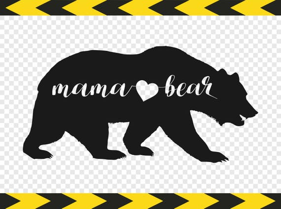 Mama bear svg file diy shirt car decal sticker cut files dxf pdf png from svgpngfiles on etsy studio