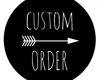 Custom Tumbler Order