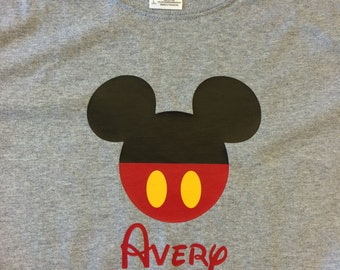 Personalized Family Vacation Shirt Disney Inspired