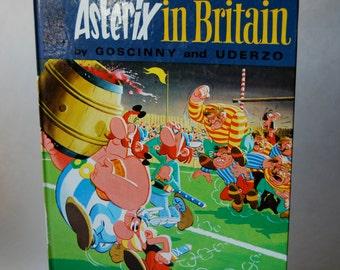 Vintage Children's Book, Asterix in Britain, An Asterix Adventure