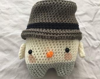 Crochet Snowman Simon