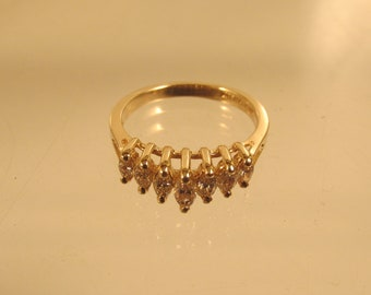 Diamond Band Ring  Size 7 Promise Engagement  @ A Village Coin Bullion 3/3/4 B