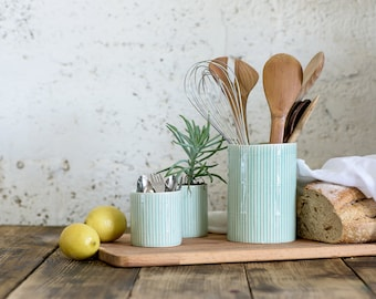 Charmant More Colors. Ceramic Utensil Holder, Ceramic Kitchen ...