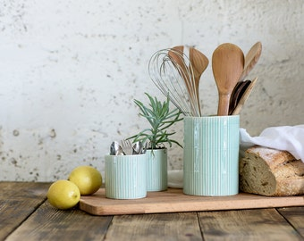 Delicieux More Colors. Ceramic Utensil Holder, Ceramic Kitchen ...