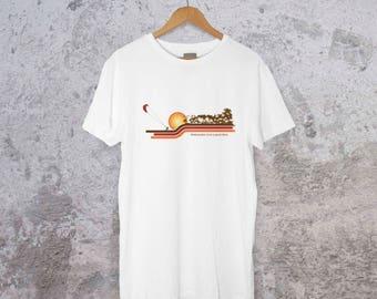 T-shirt Love kiteboarders