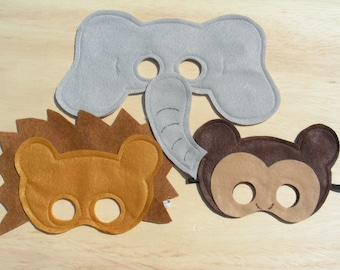 Mini Safari Mask Set