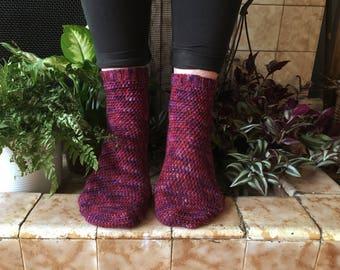Crochet Pattern - Trillium Socks