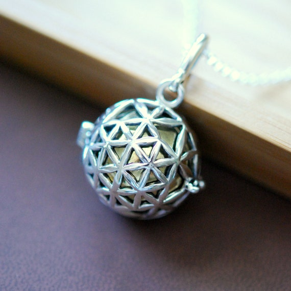 Harmony ball necklace sterling silver harmony ball pendant like this item aloadofball Gallery